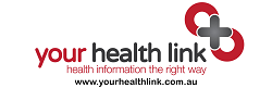 This is the logo of the Your Health Link website. This graphic is hyperlinked to this website