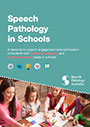 This is a cover of the Speech Pathology in Schools Resource Guide. This provides a link to the guide, which opens as Flipbook.