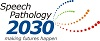 This is the logo of the Speech Pathology 2030 project. It is linked to the Speech Pathology 2030 page on this website