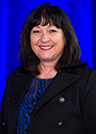 This is a photograph of Chyrisse Heine, director of Speech Pathology Australia.